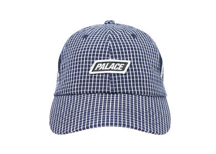Palace Check Up 6-Panel Navy (SS20)の写真