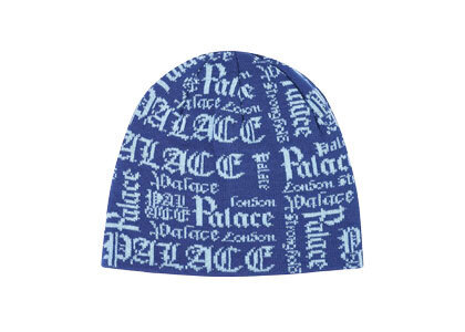 Palace Old P Beanie Blue (SS20)の写真