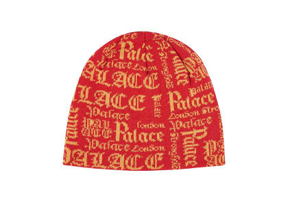 Palace Old P Beanie Red (SS20)の写真