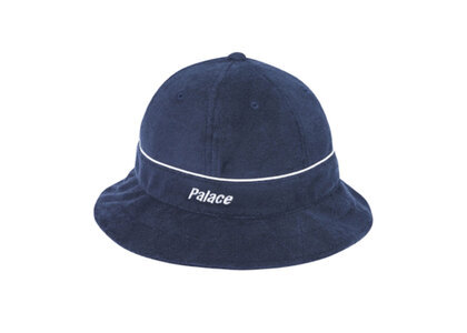 Palace Towelling Bucket Hat Navy (SS20)の写真