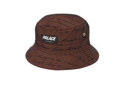 Palace Das Mind Bucket Hat Orange/Black (SS20)の写真