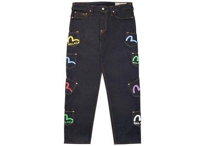 Palace Evisu Multi Pocket Jean indigo  (SS20)の写真
