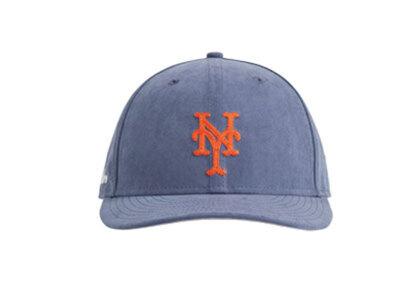Aime Leon Dore New Era Brushed Nylon Mets Hat Blueの写真