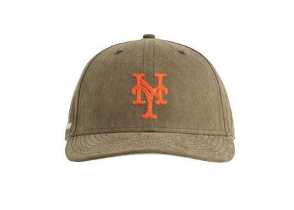 Aime Leon Dore New Era Brushed Nylon Mets Hat Brownの写真