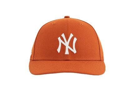 Aime Leon Dore x New Era Chain Stitch Yankees Hat Orangeの写真