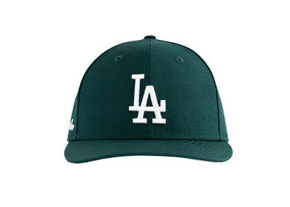 Aime Leon Dore x New Era Dodgers Hat Dark Greenの写真