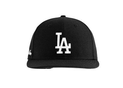 Aime Leon Dore x New Era Dodgers Hat Blackの写真