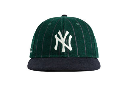 Aime Leon Dore New Era Wool Pinstripe Yankee Hat Green/Navyの写真