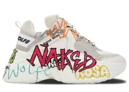 Naked Wolfe Track White Graffitiの写真