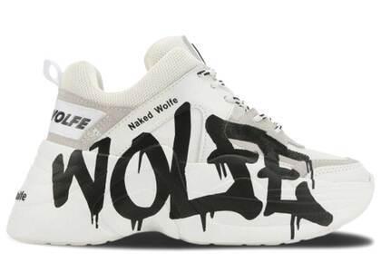 Naked Wolfe Track Logo White Leatherの写真