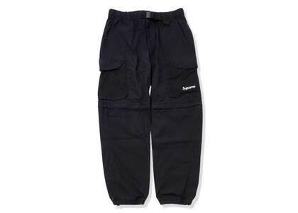 Supreme Mesh Pocket Belted Cargo Pant Black (SS21)の写真