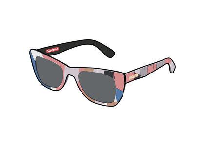 Supreme Emilio Pucci Cat Sunglasses Pink (SS21)の写真