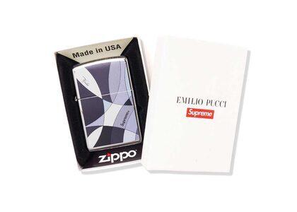 Supreme Emilio Pucci Zippo Black (SS21)の写真
