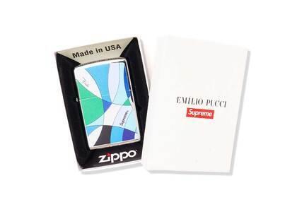 Supreme Emilio Pucci Zippo Blue (SS21)の写真
