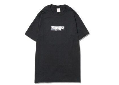 Supreme Emilio Pucci Box Logo Tee Black / Gray (SS21)の写真