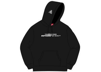 Supreme World Is Yours Hooded Sweatshirt Black (SS21)の写真
