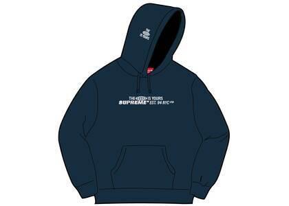 Supreme World Is Yours Hooded Sweatshirt Navy (SS21)の写真