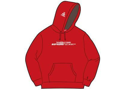 Supreme World Is Yours Hooded Sweatshirt Red (SS21)の写真