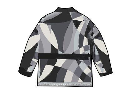 Supreme Emilio Pucci Silk Smoking Jacket Black (SS21)の写真