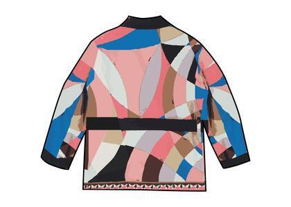 Supreme Emilio Pucci Silk Smoking Jacket Pink (SS21)の写真