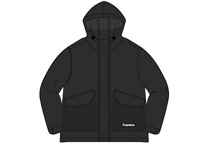 Supreme Mesh Pocket Cargo Jacket Black (SS21)の写真