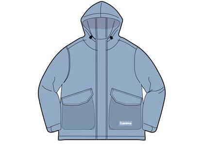 Supreme Mesh Pocket Cargo Jacket Blue (SS21)の写真