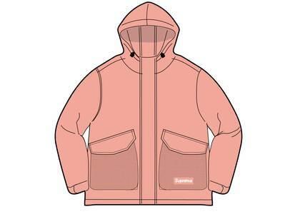 Supreme Mesh Pocket Cargo Jacket Pink (SS21)の写真
