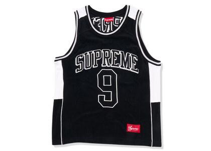 Supreme Terry Basketball Jersey Black (SS21)の写真