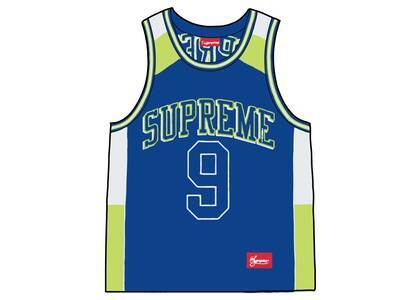 Supreme Terry Basketball Jersey Blue (SS21)の写真