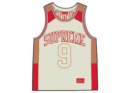 Supreme Terry Basketball Jersey White (SS21)の写真