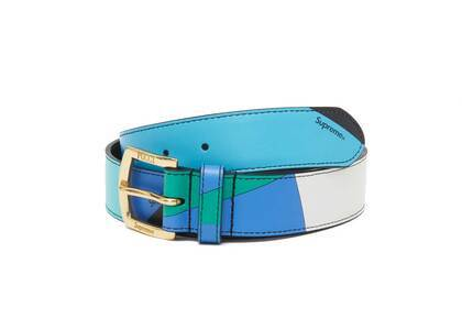 Supreme Emilio Pucci Belt Blue (SS21)の写真