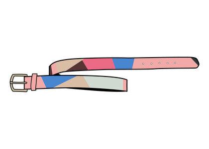 Supreme Emilio Pucci Belt Pink (SS21)の写真