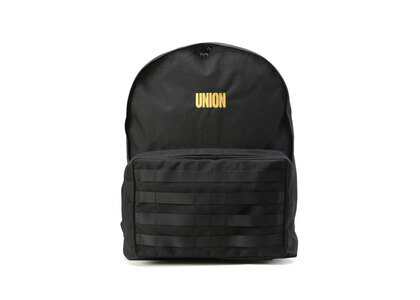 UNION Outdoor Products Large Pals BackPack Black/Yellowの写真