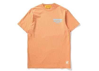 UNION Bass S/S Tee Sunset Orangeの写真