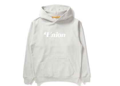 UNION Summer Logo Hoodie Soft Greyの写真