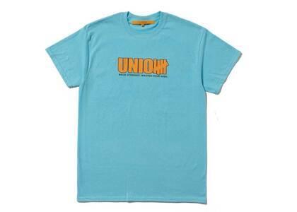 UNION 5 Strike Tee Gulf Blue/Orangeの写真