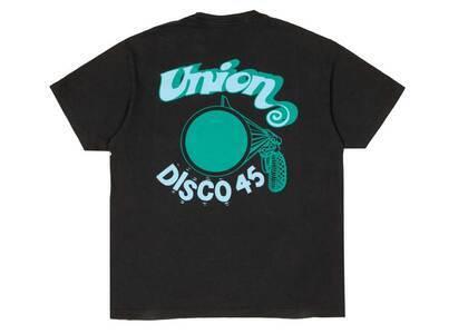UNION Disco 45 SS Tee Blackの写真