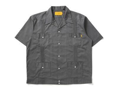 UNION Guyaberra S/SL Shirt Heather Greyの写真