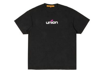 UNION LO SS Tee Black/Pinkの写真