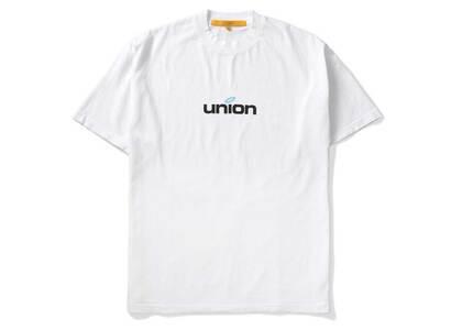 UNION LO SS Tee White / Blueの写真