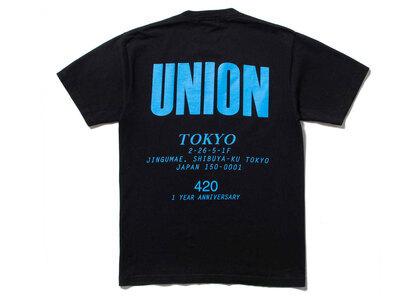 UNION Staff Tee Black/Blueの写真