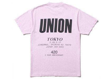 UNION Staff Tee Pink/Blackの写真