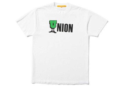 UNION U-Man Tee White/Acid Green/Blackの写真
