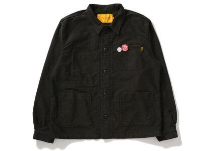 UNION Moleskin Chore Jacket Blackの写真
