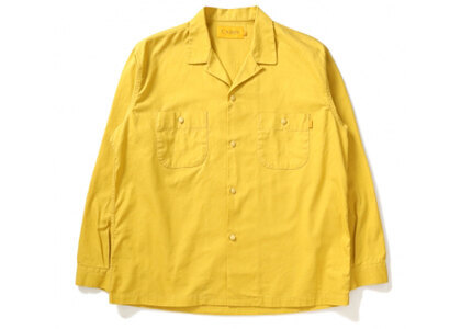 UNION Button Down L/SL Shirt /OX Canary Yellowの写真