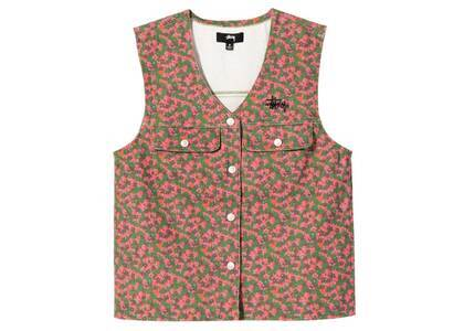 Stussy Sycamore Canvas Vest Multi (SS21)の写真