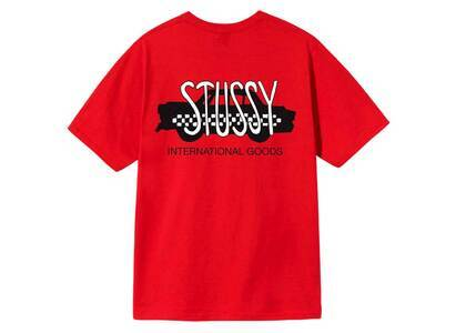 Stussy Taxi Cab Tee Red (SS21)の写真