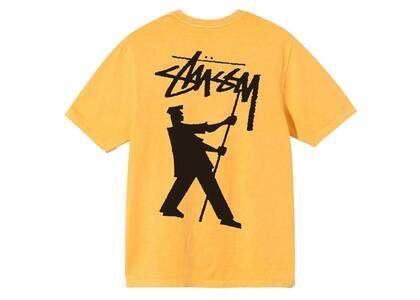 Stussy Painter Pig Dyed Tee Yellow (SS21)の写真