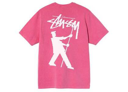 Stussy Painter Pig Dyed Tee Pink (SS21)の写真