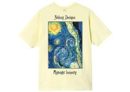Stussy Midnight Insanity Tee Yellow (SS21)の写真
